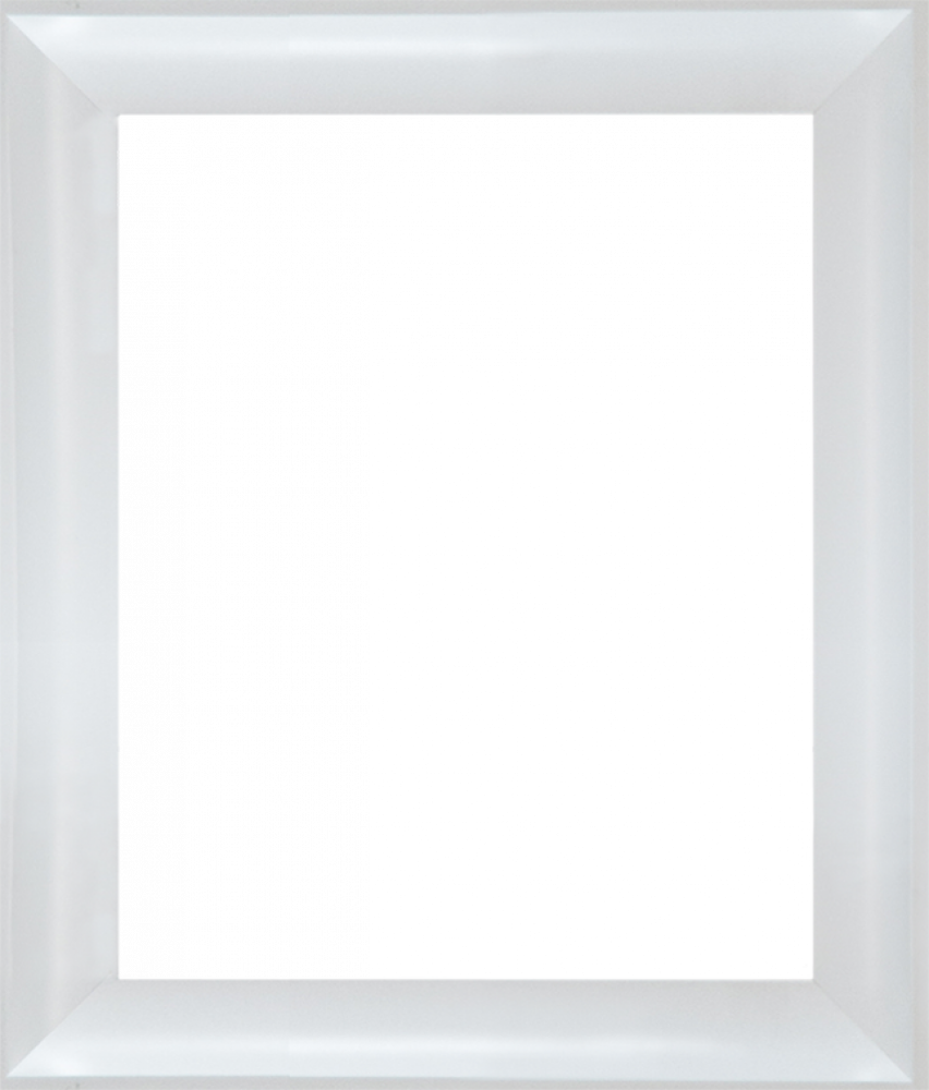 "Moderne Blanc Frame 8"" X 10"""