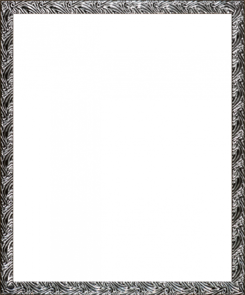 Ornate Silver Frame 20