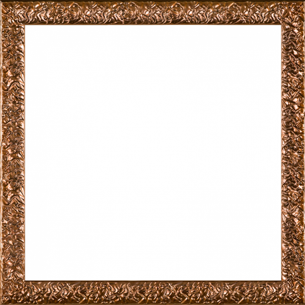 "Copper Wave Frame 24""X24"""