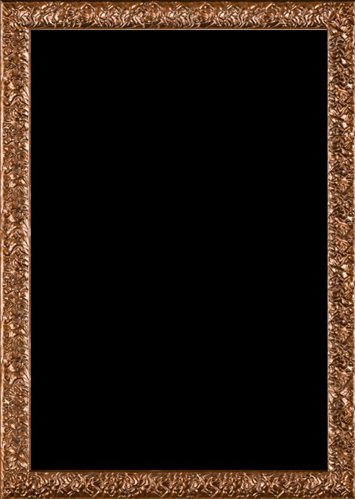 Copper Wave Frame 24