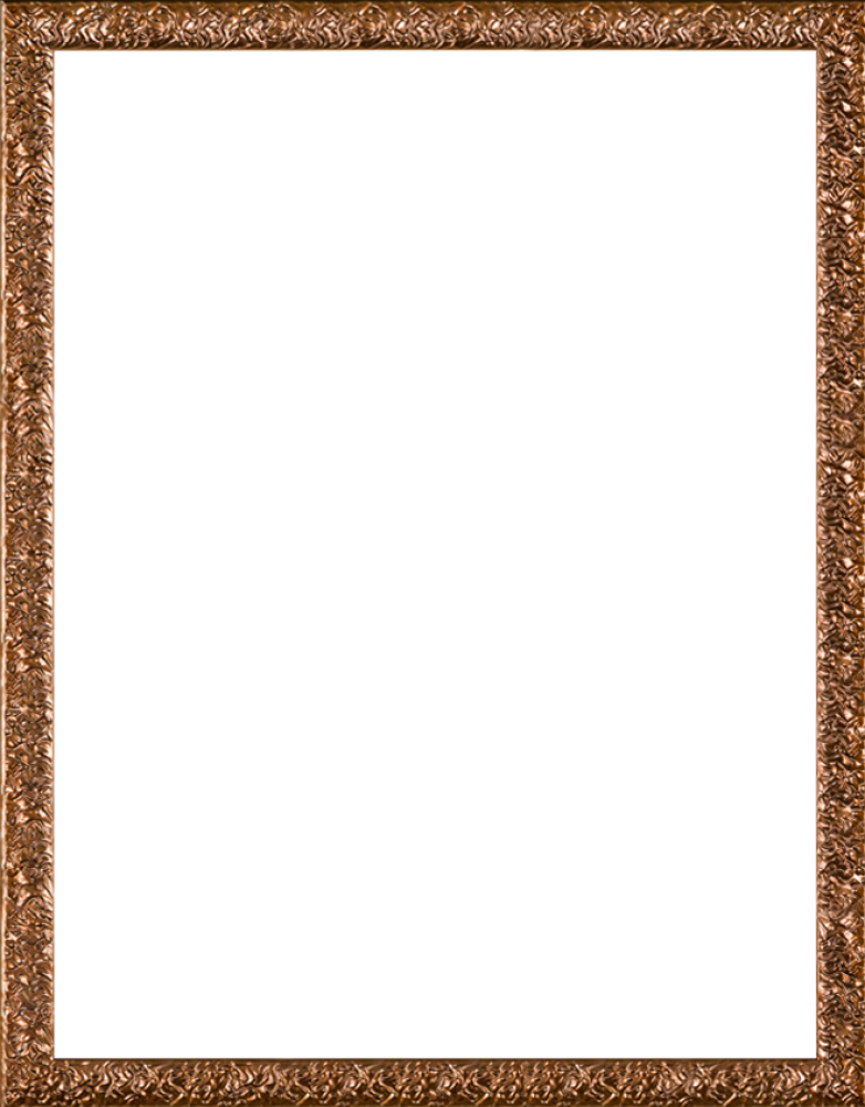 Copper Wave Frame 36
