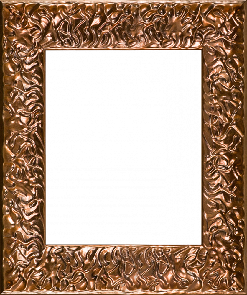 "Copper Wave Frame 8""X10"""