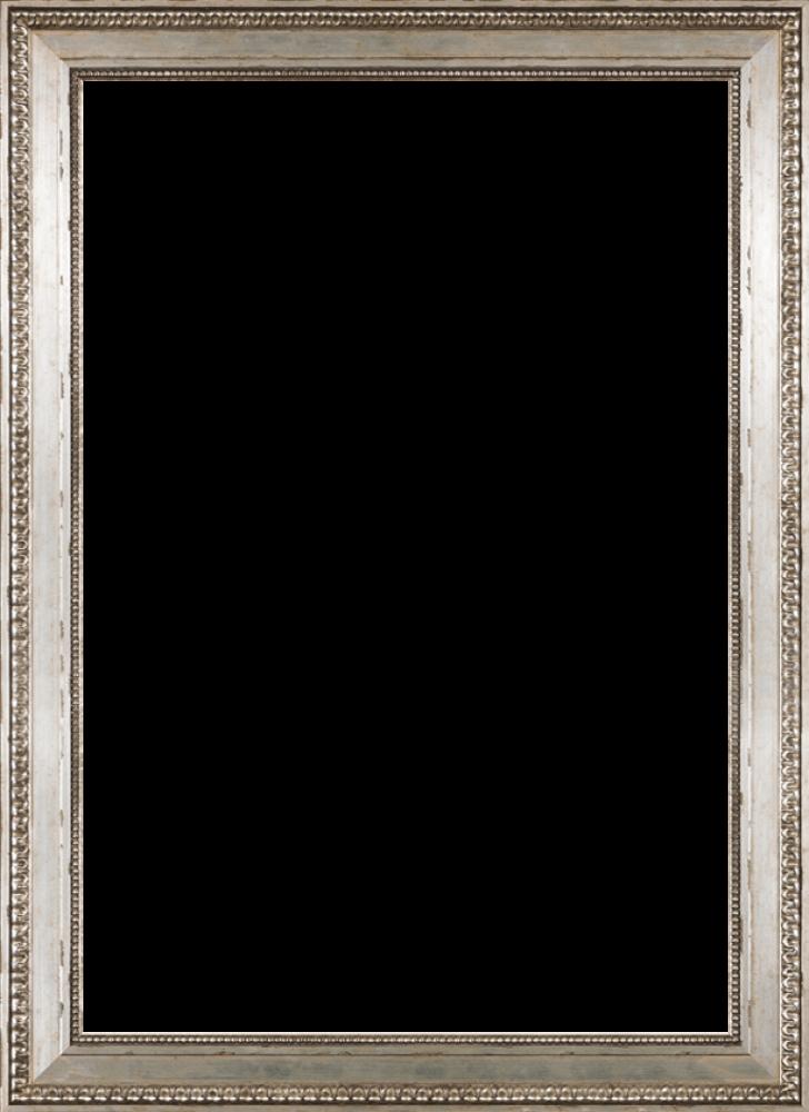 "Versailles Silver King Frame 24"" X 36"""