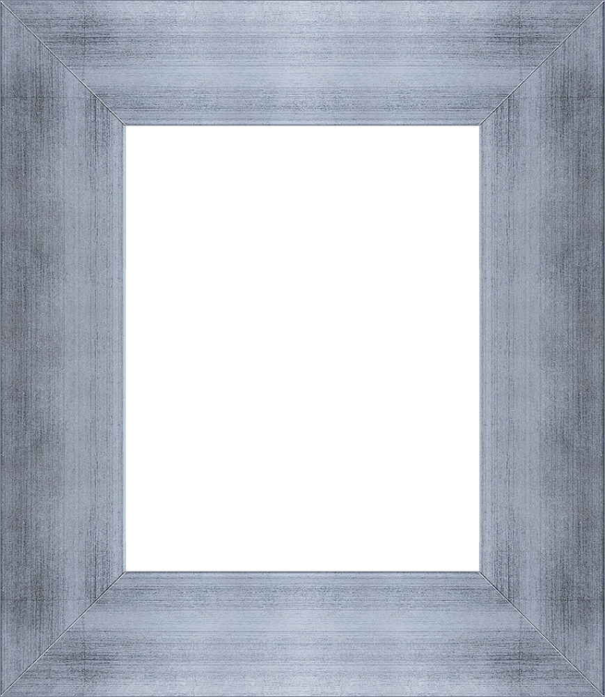 Grazed Silver King Frame 8 X 10