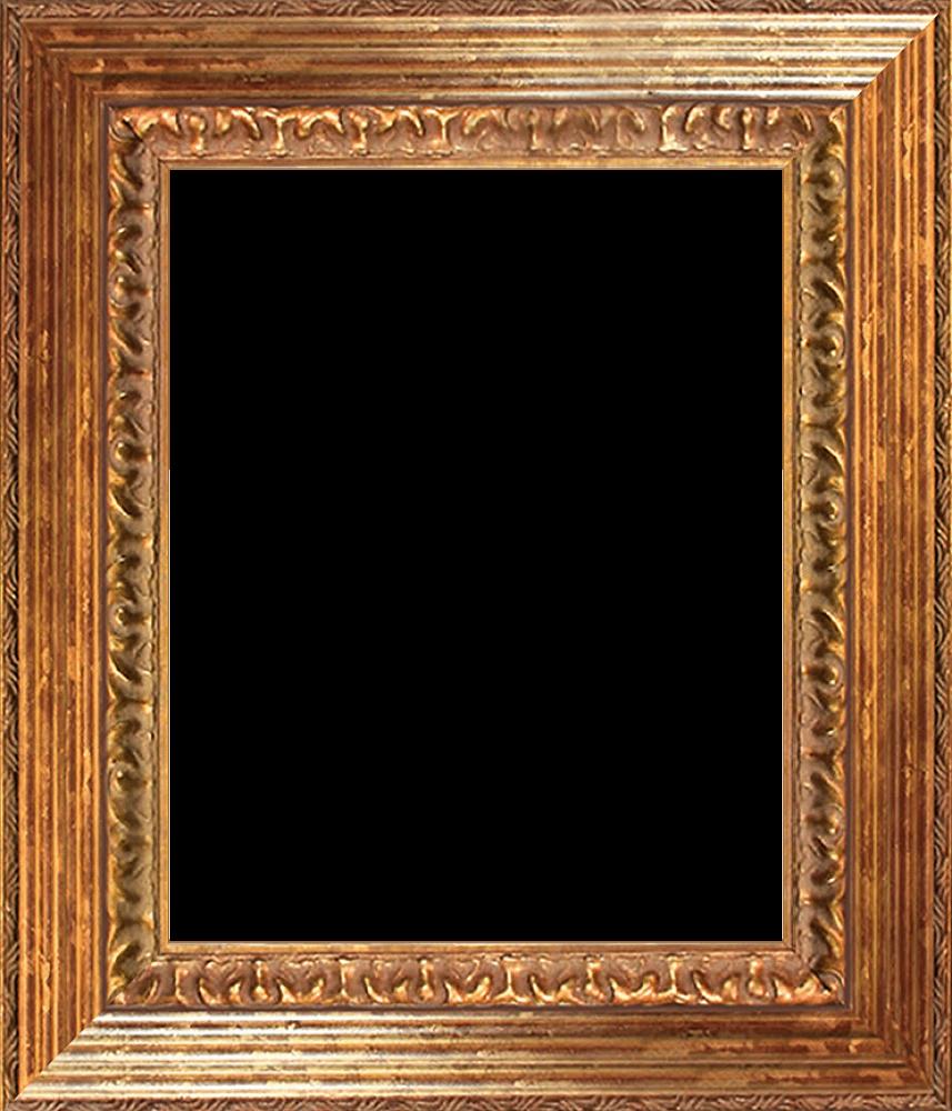 Vienna Gold Leaf Queen Frame 8