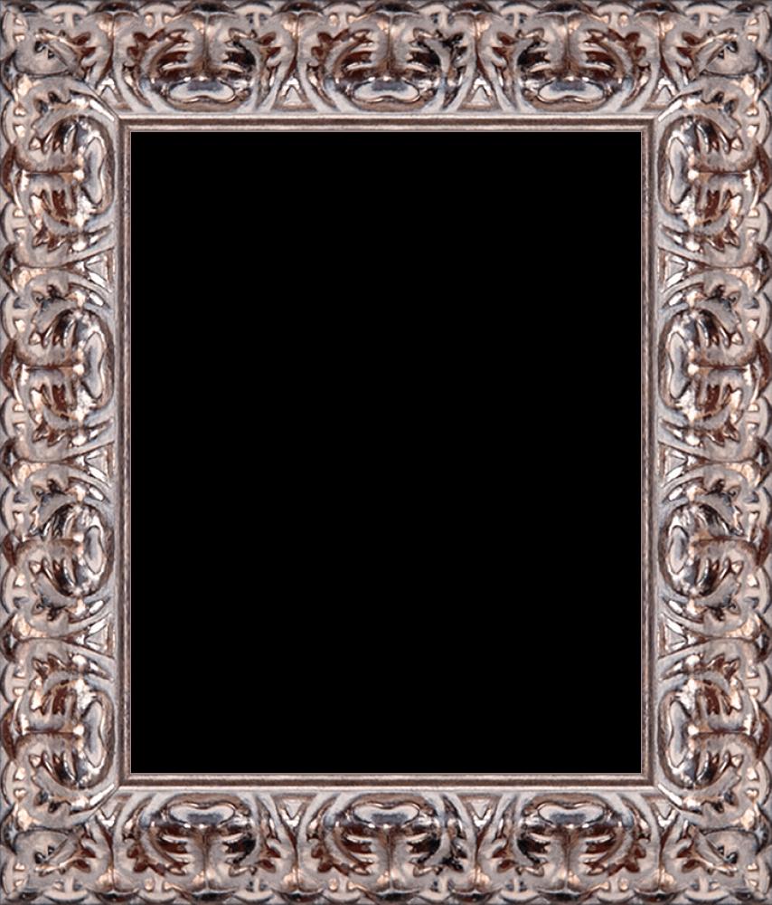 Silver Oak Leaf Frame 8