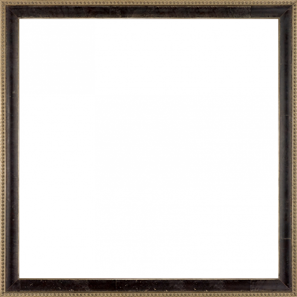 "Antiqued Athenaeum Scoop Frame 24"" X 24"""