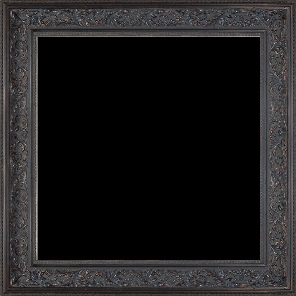 Black Spanish Walnut Frame 24X24 - Canvas Art & Reproduction Oil ...