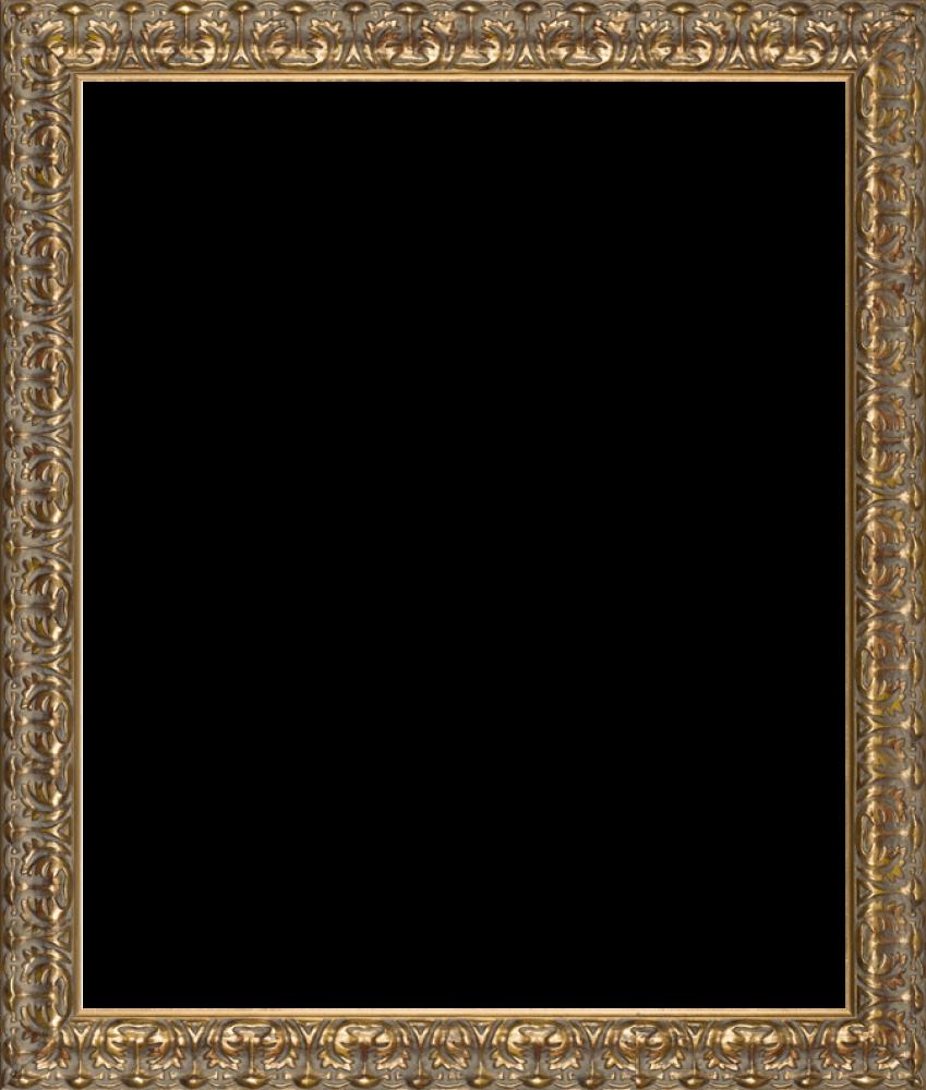 Golden Oak Leaf Frame 20