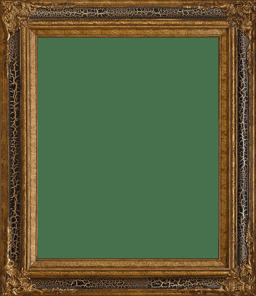 Black Crackle King Frame 20