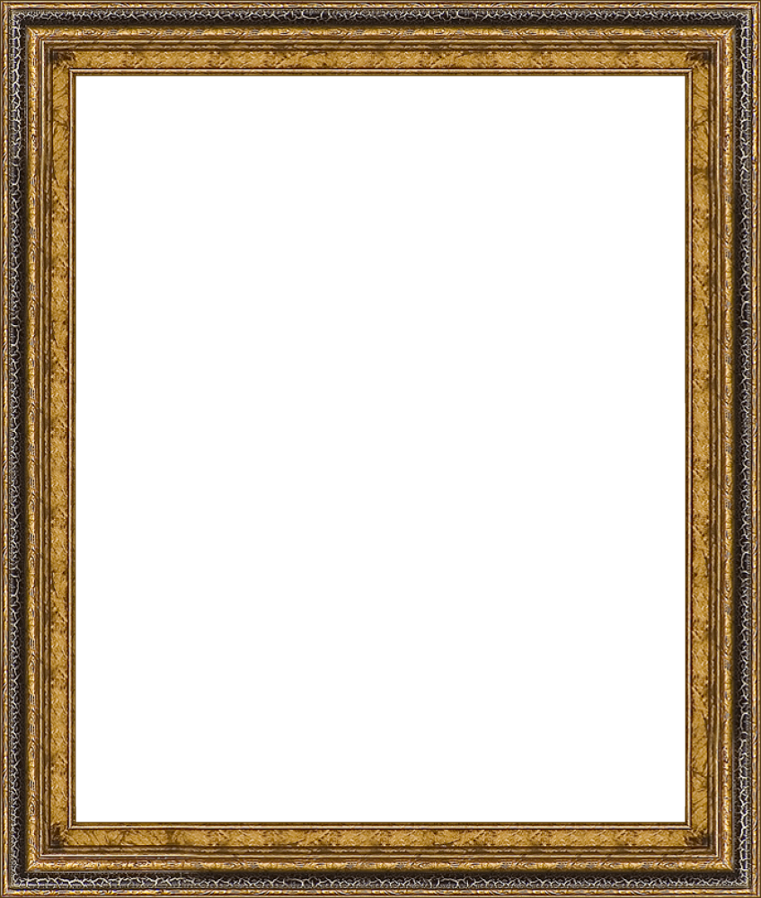 Black Crackle Frame 20