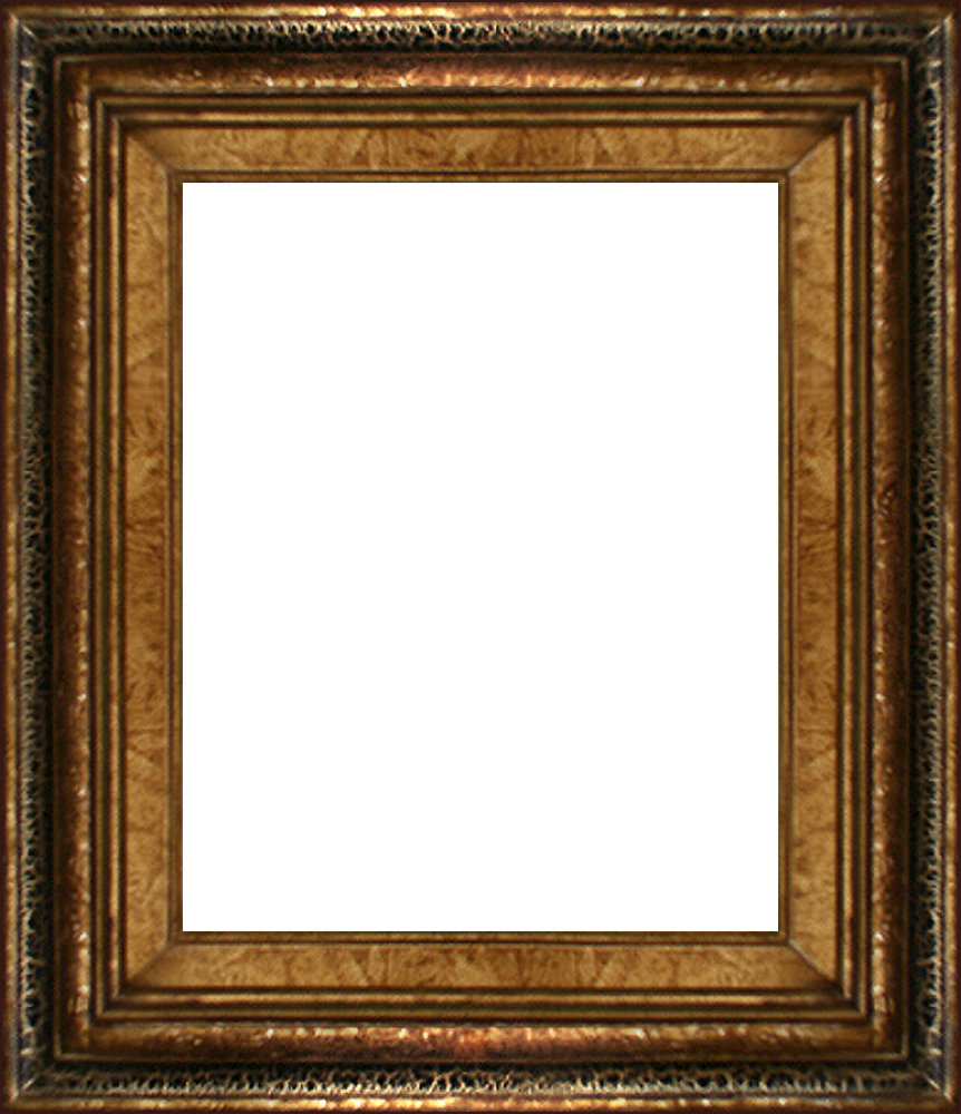 Black Crackle Frame 8