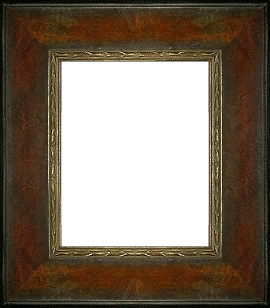 "Sambrosa Distressed Honey Frame 8""X10"""