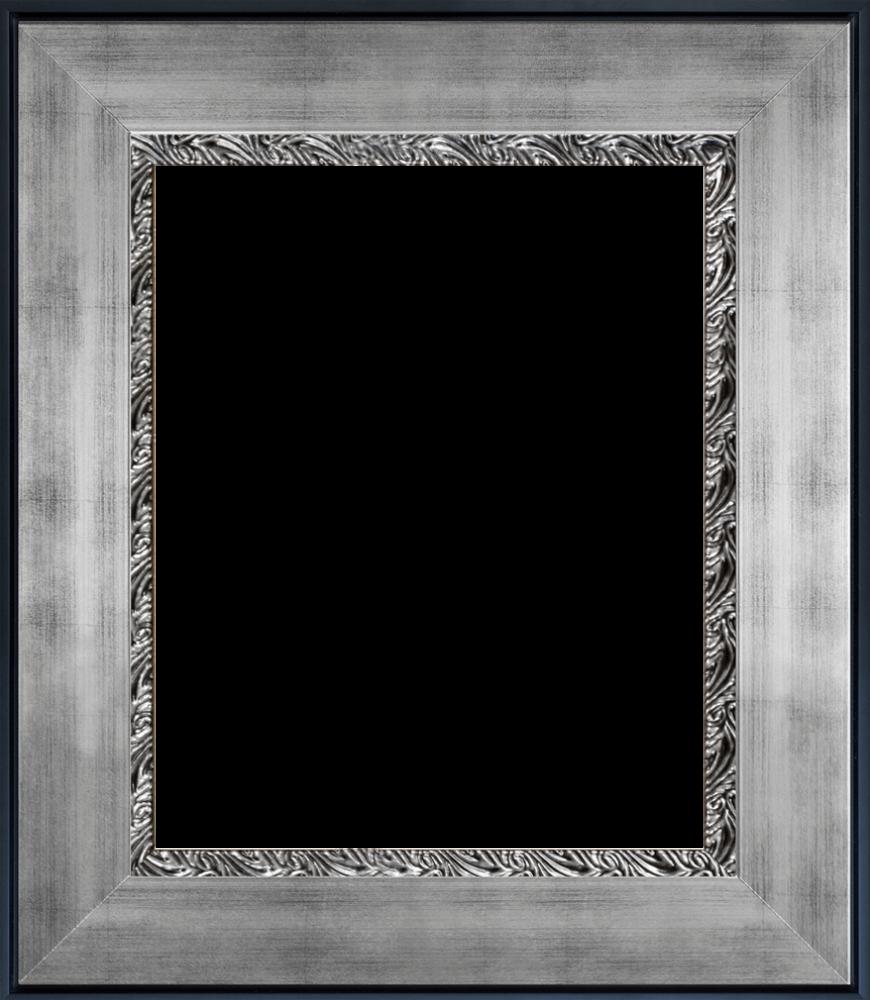 Ornate Silver King Custom Stacked Frame 16