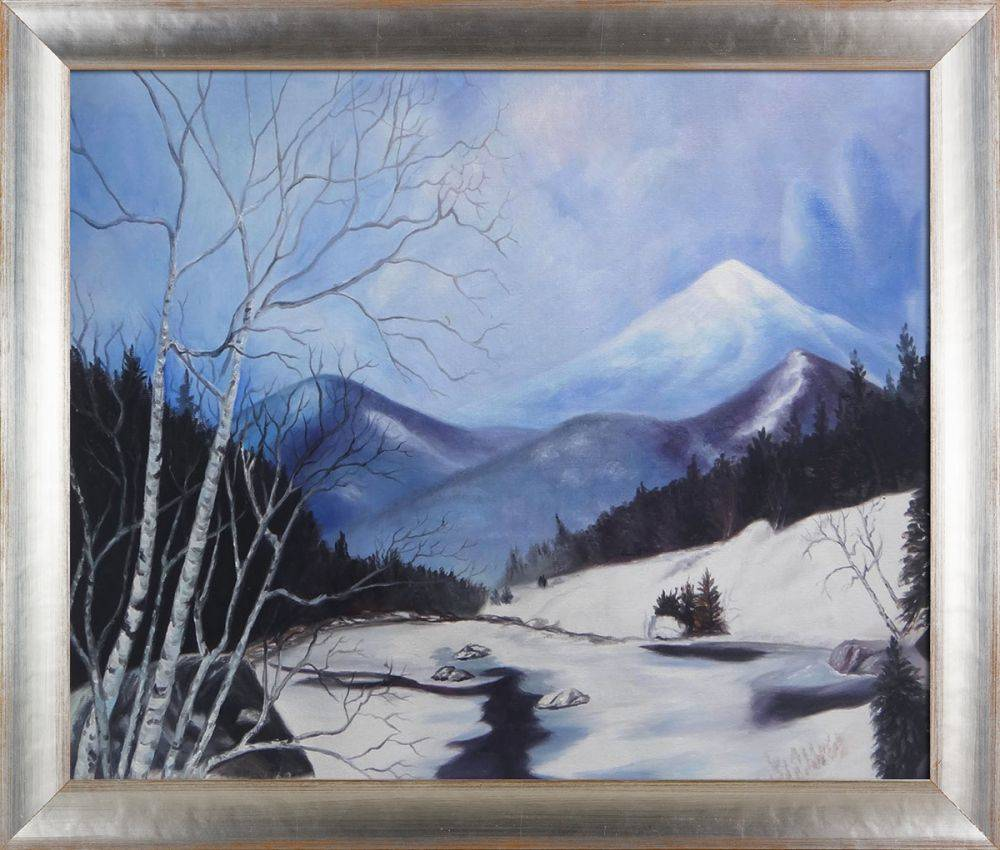 Whiteface from Route 87 Reproduction Pre-Framed