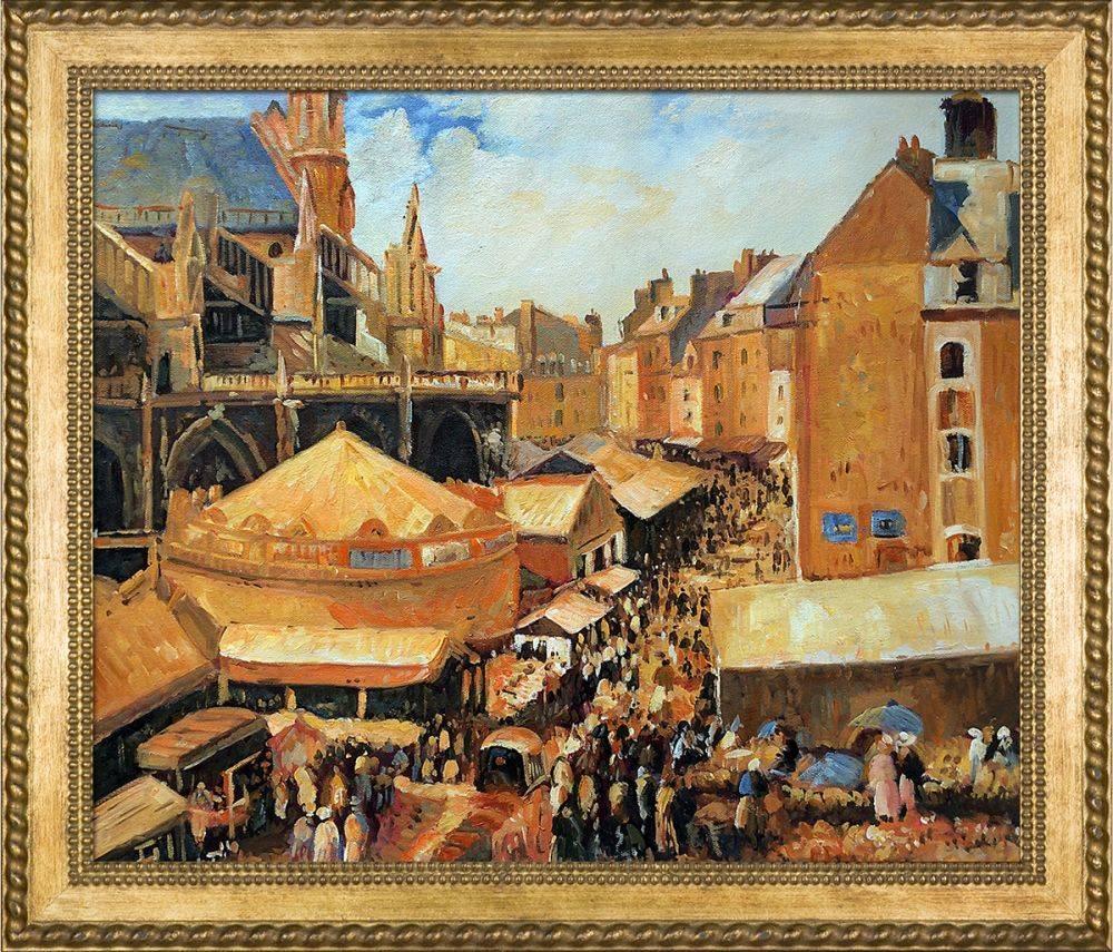 La Foire a Dieppe Pre-Framed