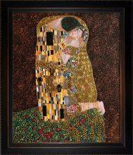 The Kiss (Full View) Luxury Line Pre-Framed