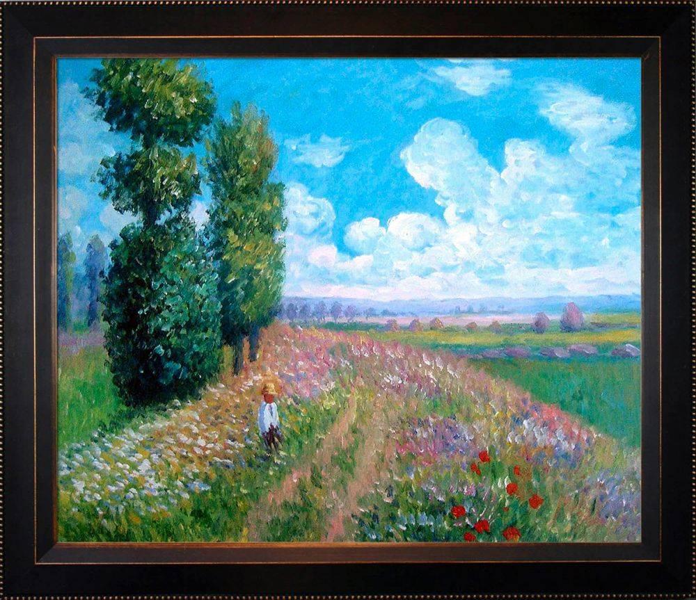 Field with Poplars Pre-Framed
