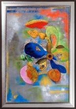 Flowers, 1914-1916 (Luxury Line) Pre-Framed