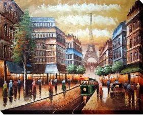 Buggy Ride Through Paris Gallery Wrap