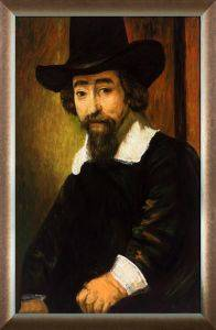 Dr Ephraim Bueno, Jewish Physician and Writer Pre-Framed