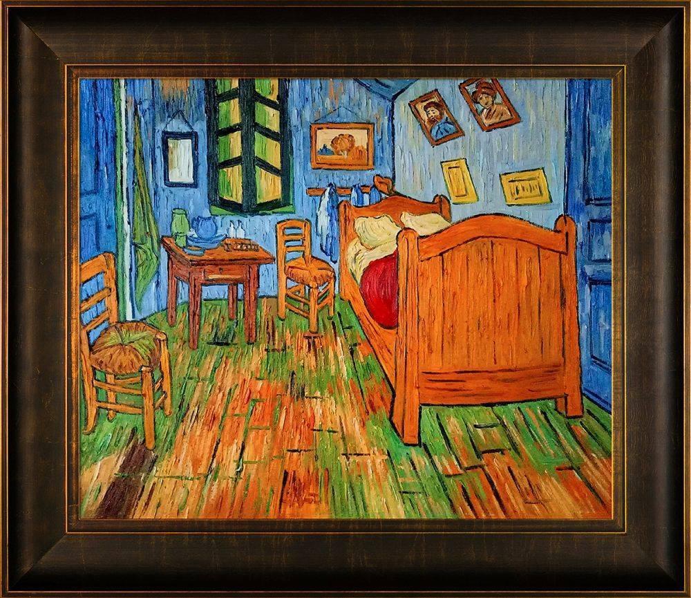 Bedroom At Arles Pre-Framed