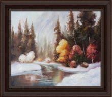 Winter Landscape Pre-Framed