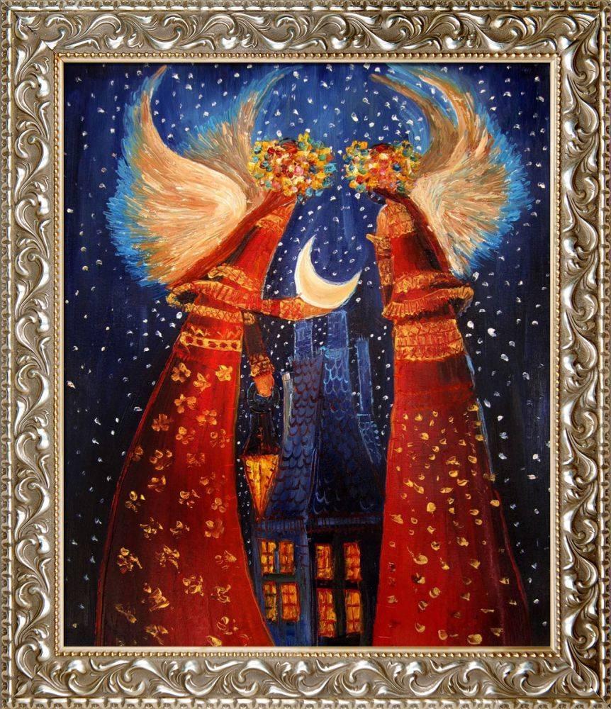 Angels II Pre-Framed