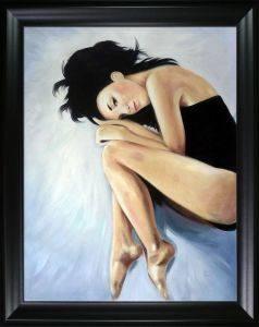 Ballerina I Pre-Framed