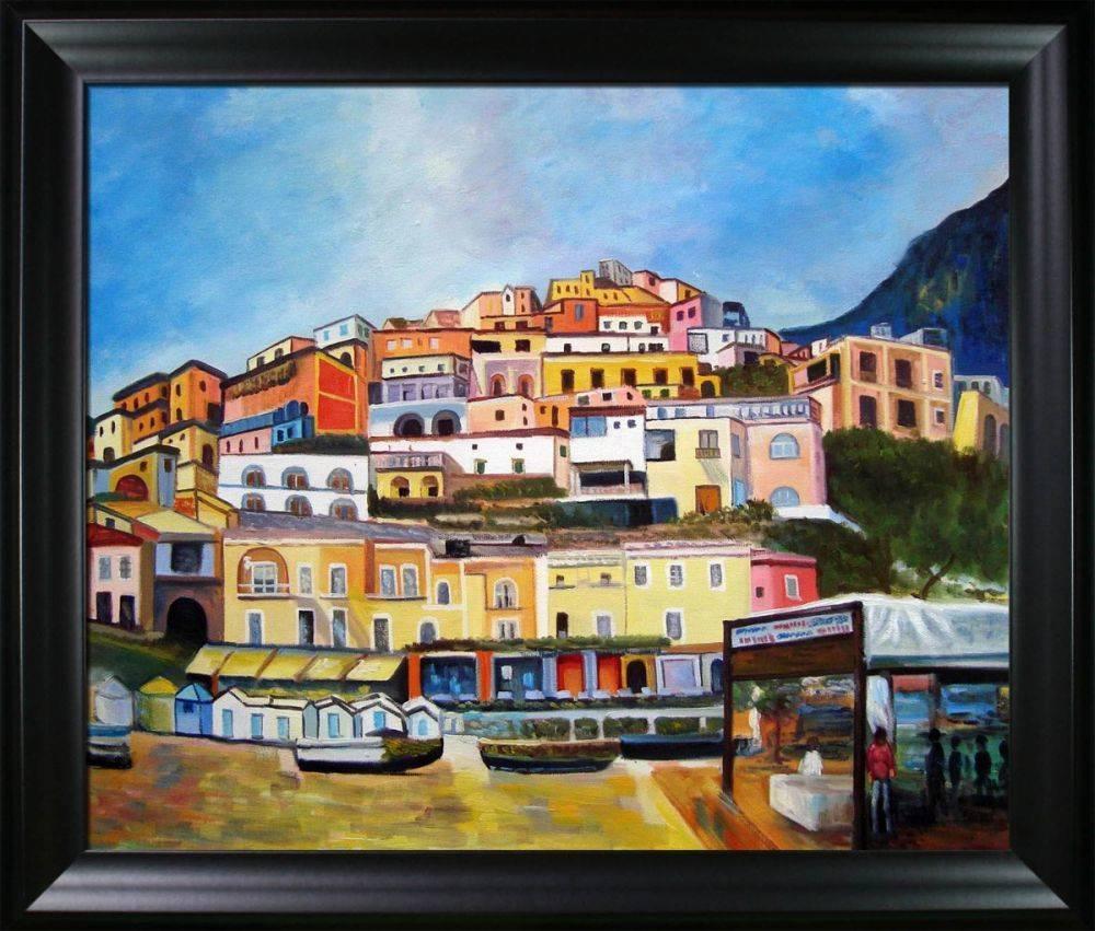 Boat rentals at Positano Pre-Framed