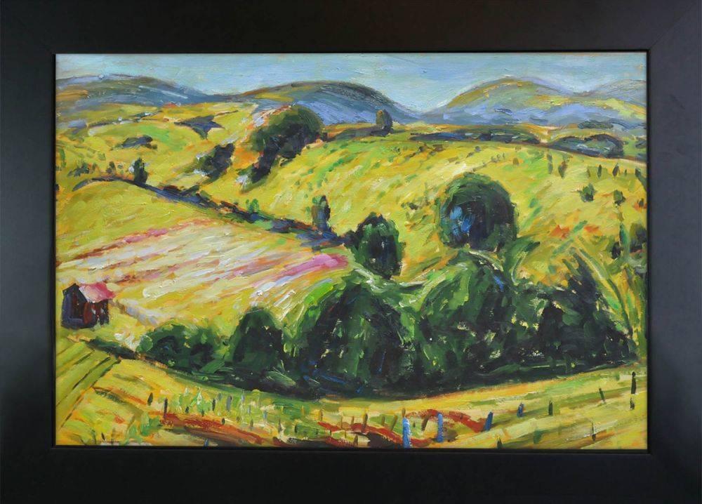 Fauve Landscape with Rolling Hills, 1914 Pre-Framed