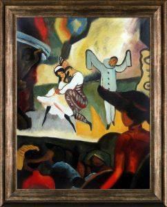 Russian Ballet Pre-Framed