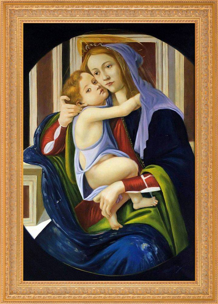Madonna and Child Pre-Framed