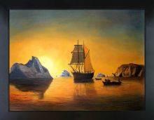Arctic Scene Pre-Framed