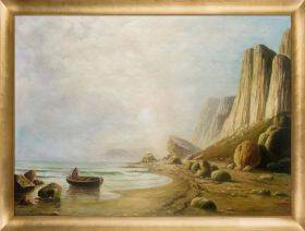 Coast of Labrador 1866 Pre-Framed