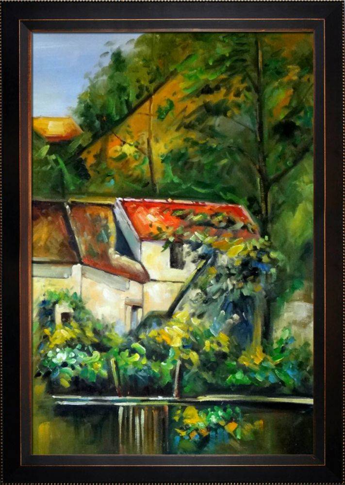 Cezanne House Of Piere La Croix Pre Framed