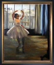 Dancer Posing Pre-Framed