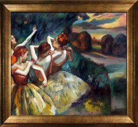 Four Dancers Pre-Framed