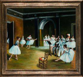 Dance Studio at the Opera (Affordable Line) Pre-Framed
