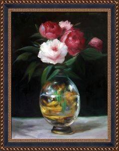 Bouquet of Flowers Pre-Framed