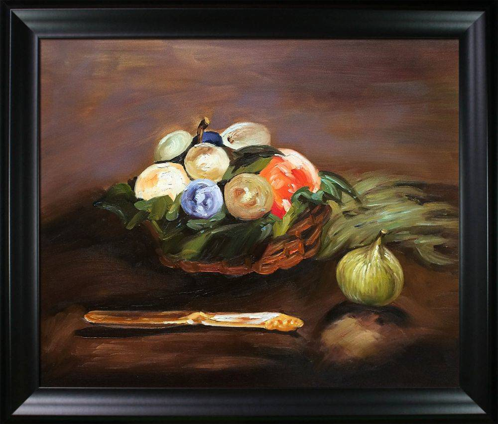 Basket Of Fruit Pre Framed
