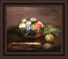 Basket of Fruit Pre-Framed