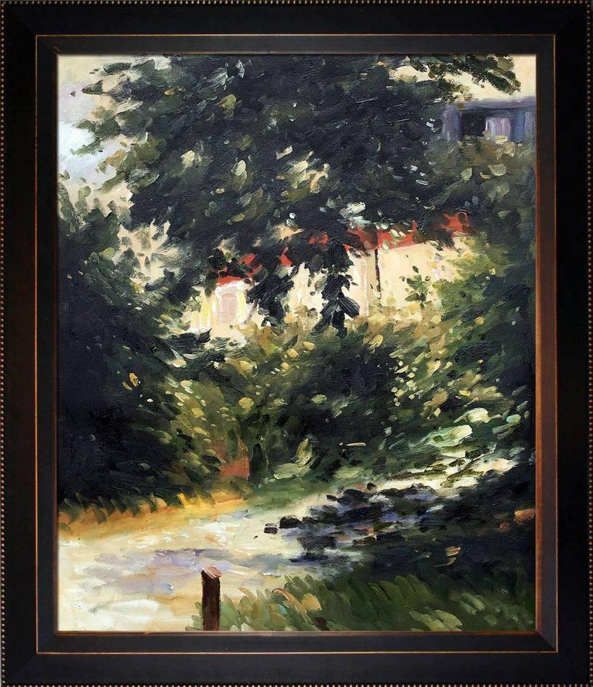 Garden Path in Rueil Pre-Framed
