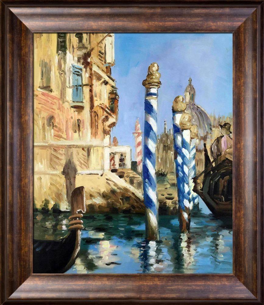 The Grand Canal, Venice Pre-Framed