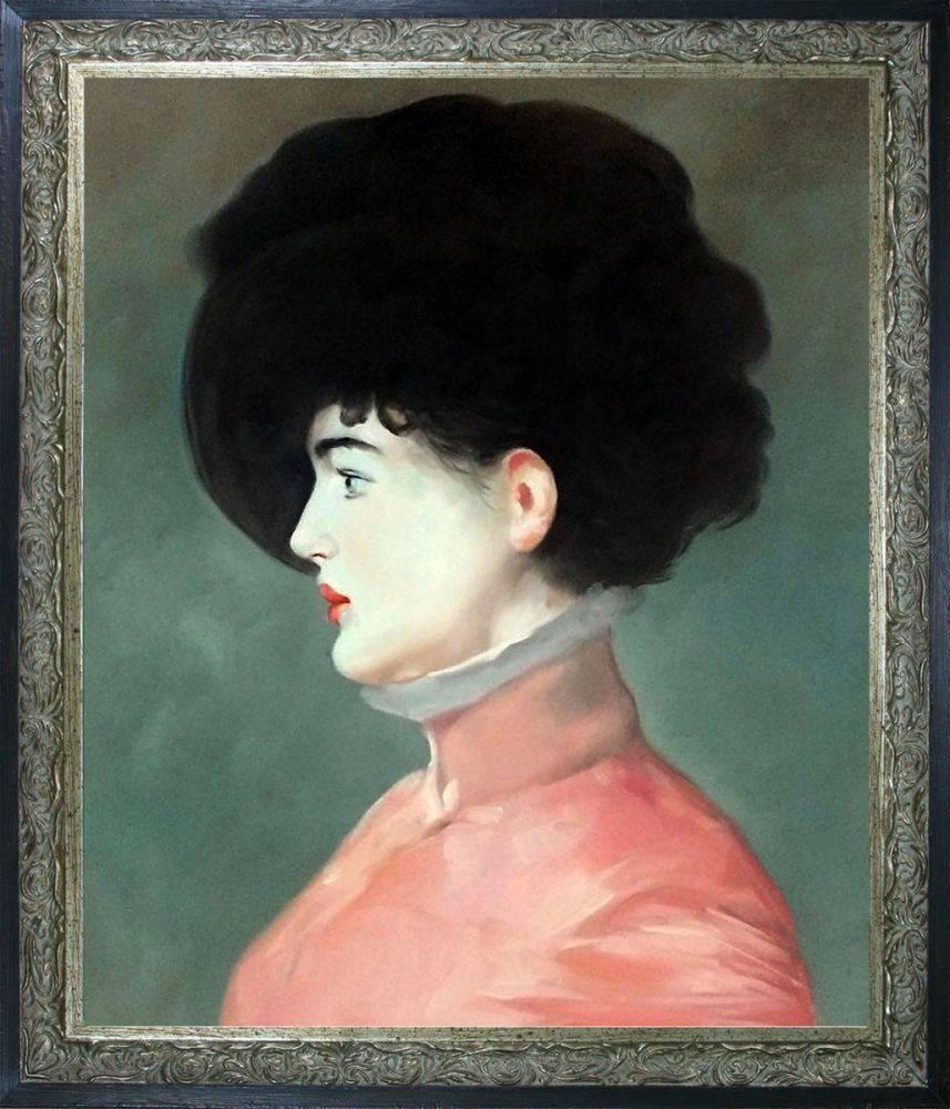 Irma Brunner (Woman in a Black Hat) Pre-Framed