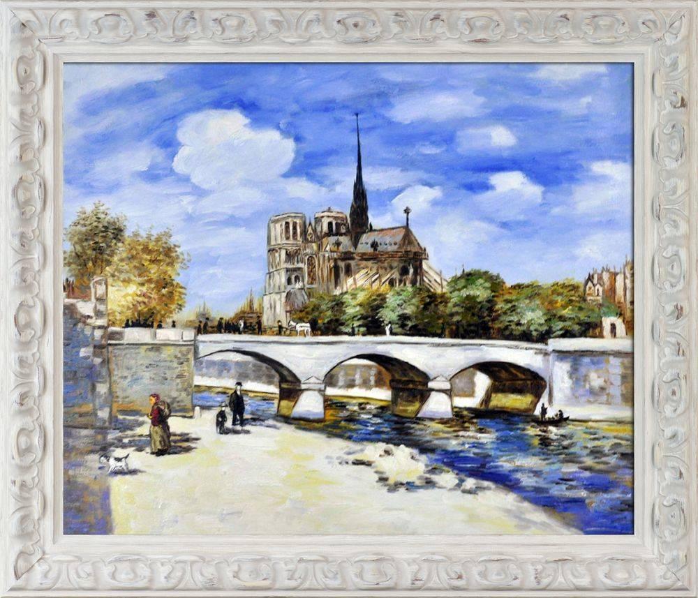Vue de Notre-Dame Pre-Framed