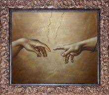 Creation of Adam Pre-Framed