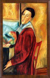 Modigliani, Self-Portrait Pre-Framed