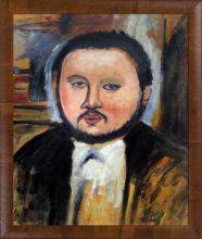 Portrait of Diego Rivera Pre-Framed