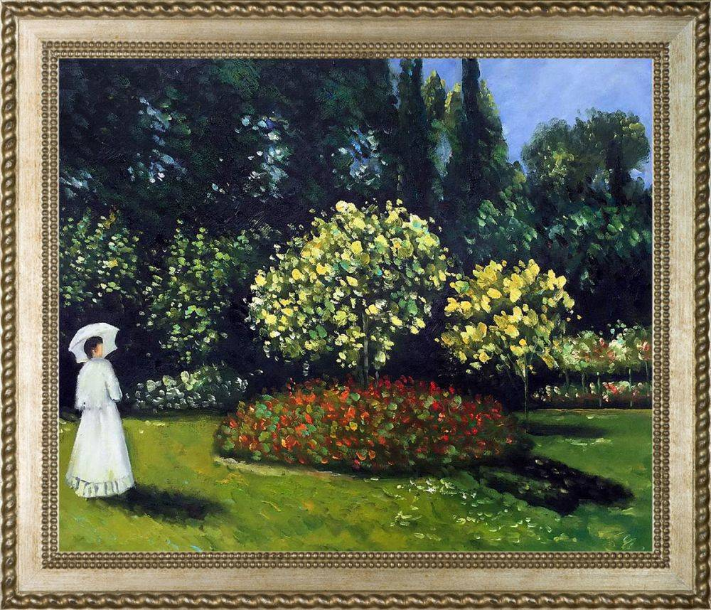 Jeanne-Marguerite Lecadre (Lady in a Garden) Pre-Framed